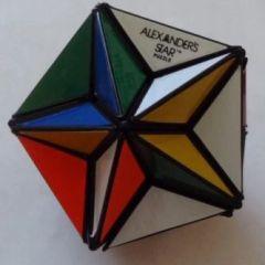 Rubiks Rare 1982 Alexanders Star Puzzle