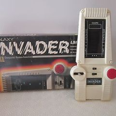 Vintage Galaxy Invader handheld  Battery Operated Computer game Console  (boxed)