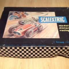 SCALEXTRIC Vintage Tri-ang Racing Set Not Complete Sold As Seen In Photos
