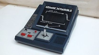 cgl-1981-cosmic-scramble-hand-held-computer-game-working-ex-con-24710