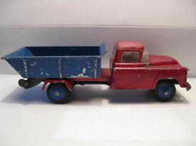 vilmer-denmark-chevrolet-6400-tipper-very-rare-item-w-plastic-wheels-1957-17466