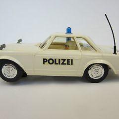 vintage 1/32 Stabo Car 40016 Mercedes 230SL Pagode Slot Police Polizei very rare