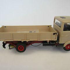 vintage Stabo Mobil 55440 Mercedes LPK 608 Truck LKW Boxed Slot Car 1/32 rare