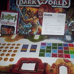 Vintage Waddingtons DARK WORLD Board Game..COMPLETE & UNUSED