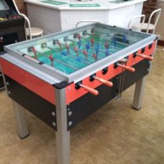 Coin Operated Table Football Table