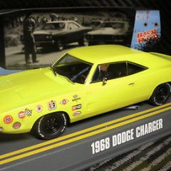 PIONEER SLOT CAR J-CODE SPECIAL DODGE HEMI CHARGER STAGE 1 PROTOTYPE , 1 OF 2