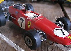 Ferrari F2 Slot Car by Stabo