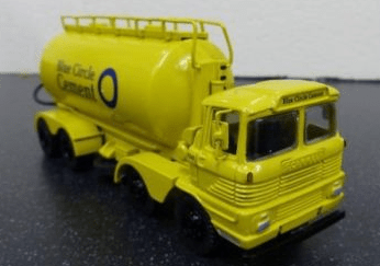 Hartsmith Models Scammell Routeman Tanker Blue Circle Lorry Ref Rc128