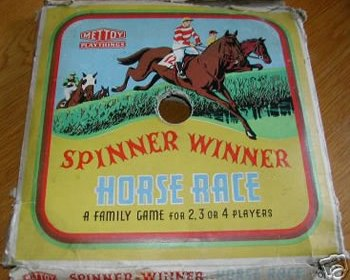 Spinner Winner Horse Race Game by Mettoy