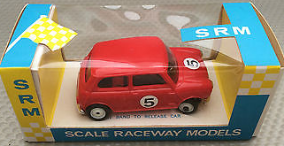 Mini Cooper Slot Car