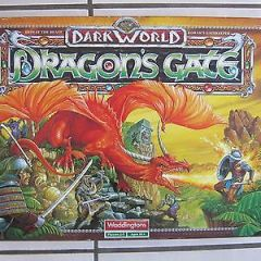 Rare Vintage – Waddingtons Dark World – Dragon's Gate Board Game – 100% Complete