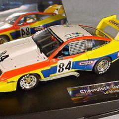 Carrera Chevrolet Dekon Monza #84 Le Mans 1978 Near MB 27265 1/32 slot car