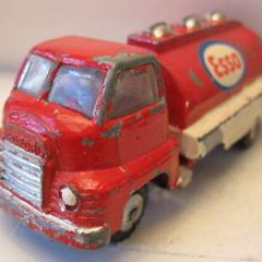 "VILMER TOYS ,MADE IN DENMARK- VERY RARE. BEDFORD ""ESSO FUEL TRUCK"",1960's"