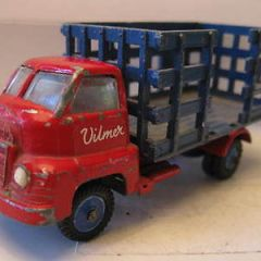 "VILMER TOYS ,MADE IN DENMARK- VERY RARE. BEDFORD ""HORSE TRUCK,1960's"