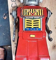 Rare Vintage 50's/60's Tin Yonezawa Talking Robot