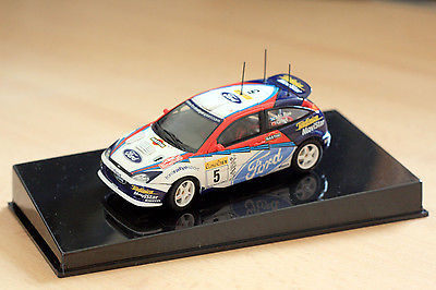 1:43 Scale Auto Art 60212 Diecast Ford Focus WRC 2002 Colin McRae / Nicky Grist