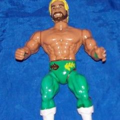 "1985 AWA Remco custom ""Hot Stuff"" Eddie Gilbert wrestling figure PLEASE READ"
