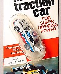 AURORA AFX – BMW 320 TURBO – HO SLOT CAR – MIP 1978