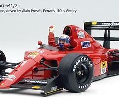 EXOTO 1/18 – 1990 Ferrari 641/2 Prost 100 Victory – GPC 97104 – RETIRED! SALE!