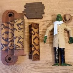 "The Munsters ""Uncle Gilbert"" Action Figure with parts Unboxed"