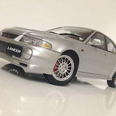 1:18 Mitsubishi Lancer Evolution VI, Silver, RARE, AUTOart Performance, Diecast