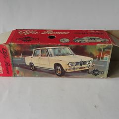 Alfa Romeo Giulia Super Mercury A4 1/43 Diecast Only The Box