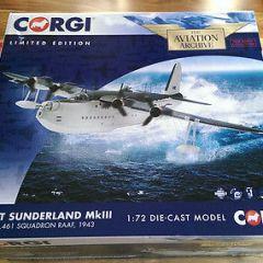 Corgi Aviation AA27501 diecast 1/72 Short Sunderland MkIII EJ134 No.461 Sqdn