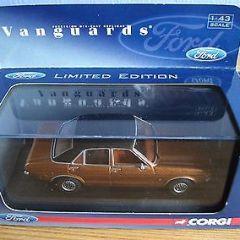 Corgi Vanguards Ford Consul Granada Diecast Car VA 05510 L/E Copper Brown 2005