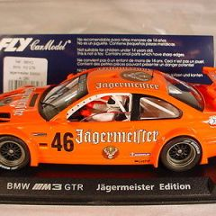 Fly BMW M3 GTR A280 Jagermeister #46 MB 1/32 slot car
