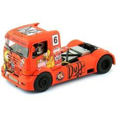 FLY SLOT 1:32 202307 MERCEDES BENZ SPECIAL EDITION SIMPSONS DUFF BEER SLOT TRUCK