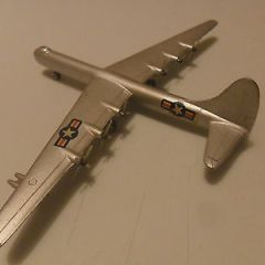 Mercury aeroplane Convair RB 36E art 416 diecast like Dinky aircraft, rare.