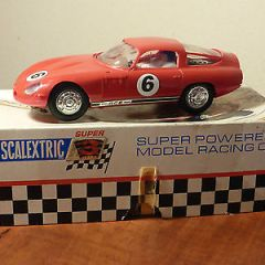Rare Scalextric Super 124 Alfa Romeo GTZ 1/24 in box.