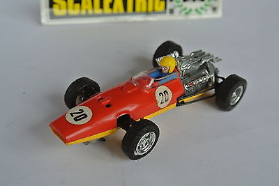 Scalextric EXIN Spain Excellent BOXED red/yellow HONDA  RA273  ref C-36 1968