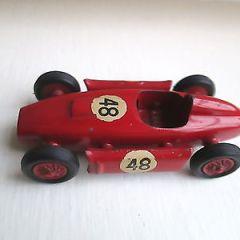 Vintage Mercury No 54 Lancia D50 Diecast Racing Car Italy RARE