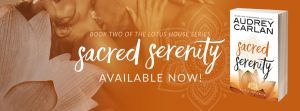 ♥ New Release + Giveaway ♥ Sacred Serenity by Audrey Carlan