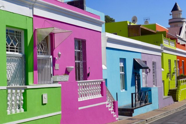 Cape Town's colorful Bo-Kaap neighborhood