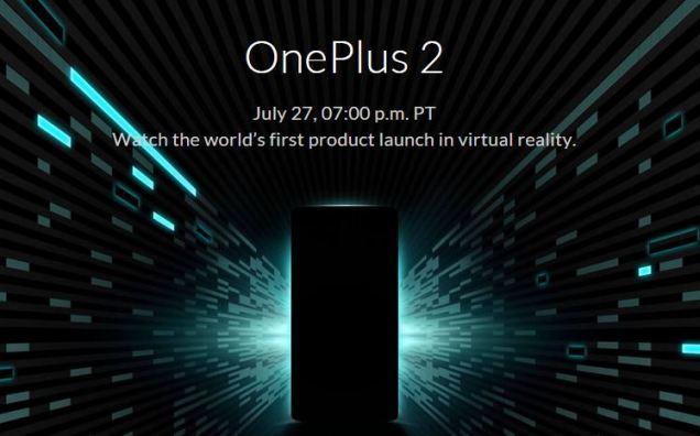 Evento del OnePlus 2