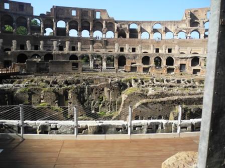 emporers seats in coliseum