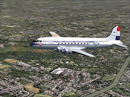 For a short while the DC4 flew, and I remember being on one flying to Chicago