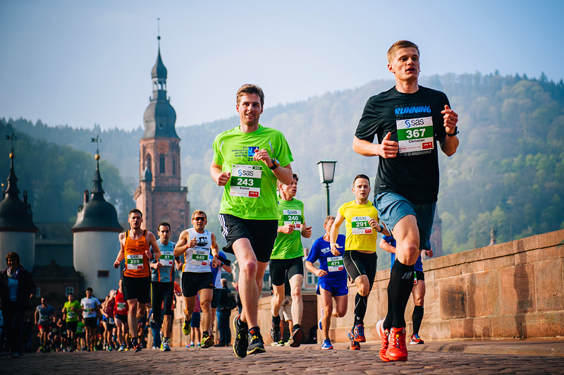 Heidelberg Half Marathon Runners