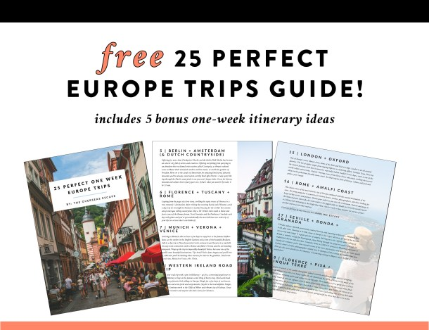 25 Perfect Europe Trips Offer