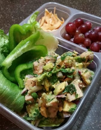 Avocado Chicken Salad Lunch small