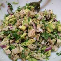 Avocado Chicken Salad small