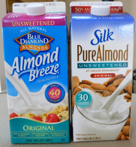 is almond milk paleo