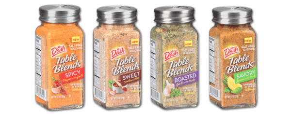 ARE MRS. DASH TABLE BLENDS PALEO