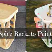 Spiced Up Paint Caddy