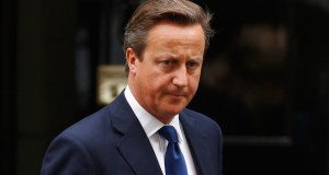 Britain's Prime Minister David Cameron leaves Downing Street in central London on Sept. 3, 2014.   REUTERS/Luke MacGregor