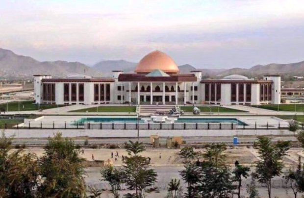 rocket-attack-on-Afghan-parliament-building