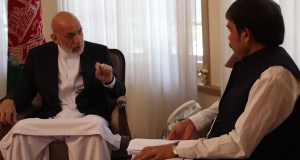 KABUL: Former president of Afghanistan Hamid Karzai in an exclusive interview with THE PASHTUN TIMES