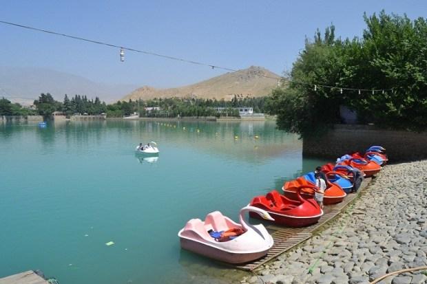 Qargha-lake
